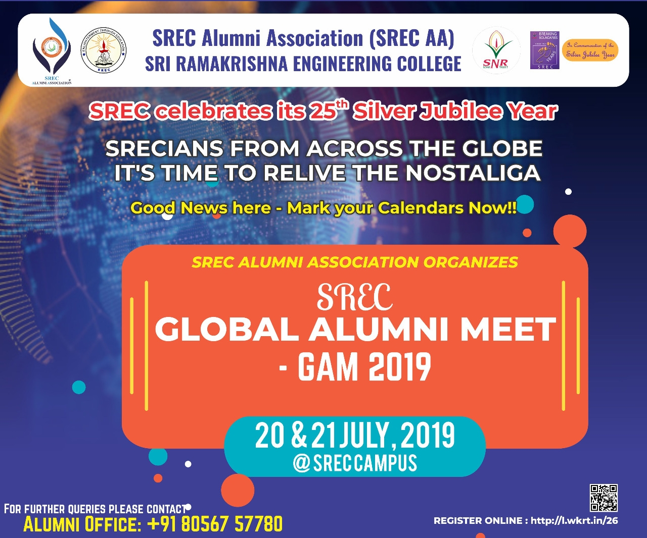 SREC- Global Alumni Meet- GAM 2019